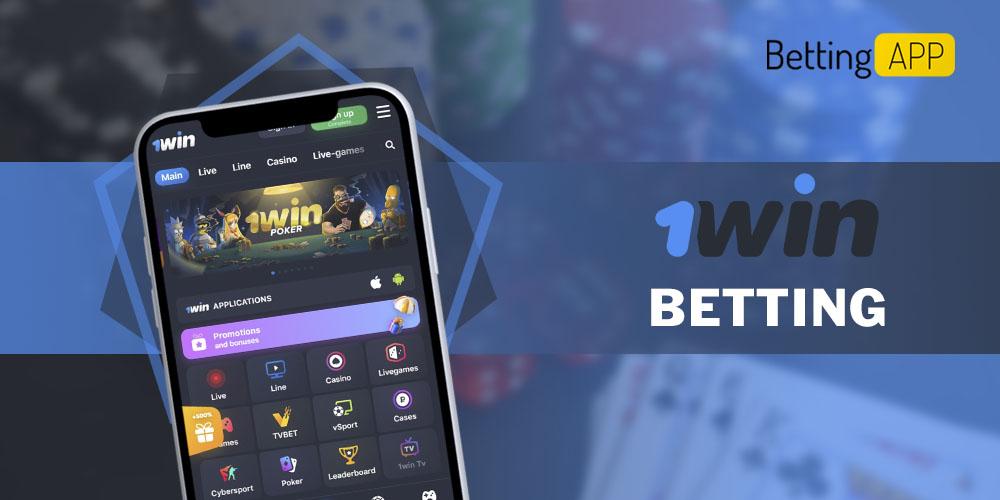 1win betting