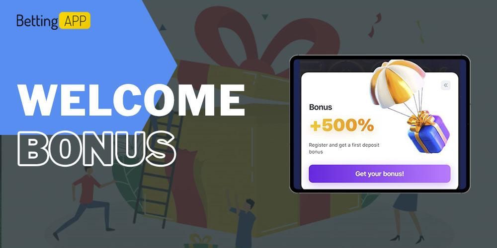 1win welcome bonus
