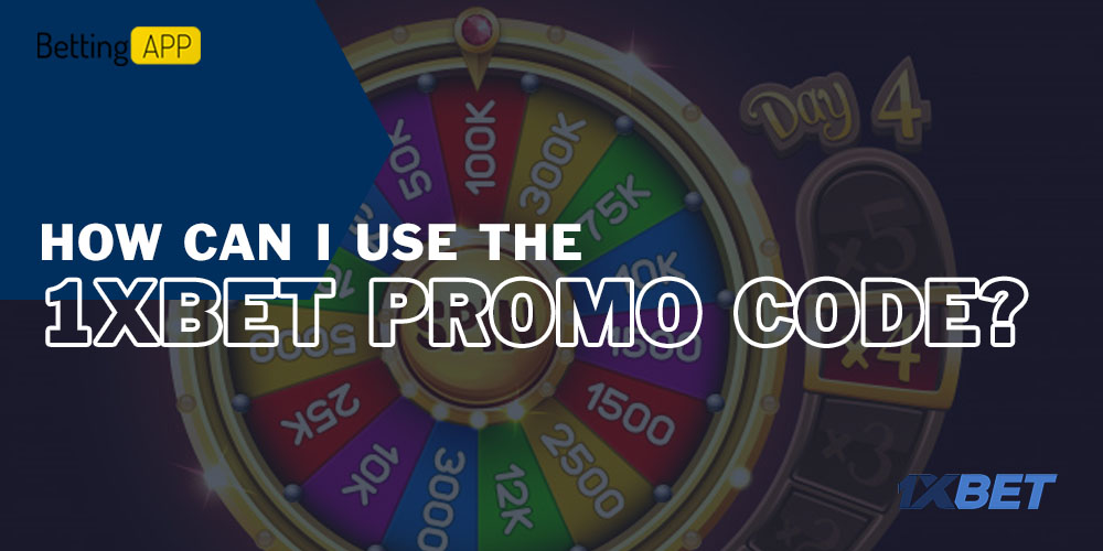 How can I use the 1xbet promo code