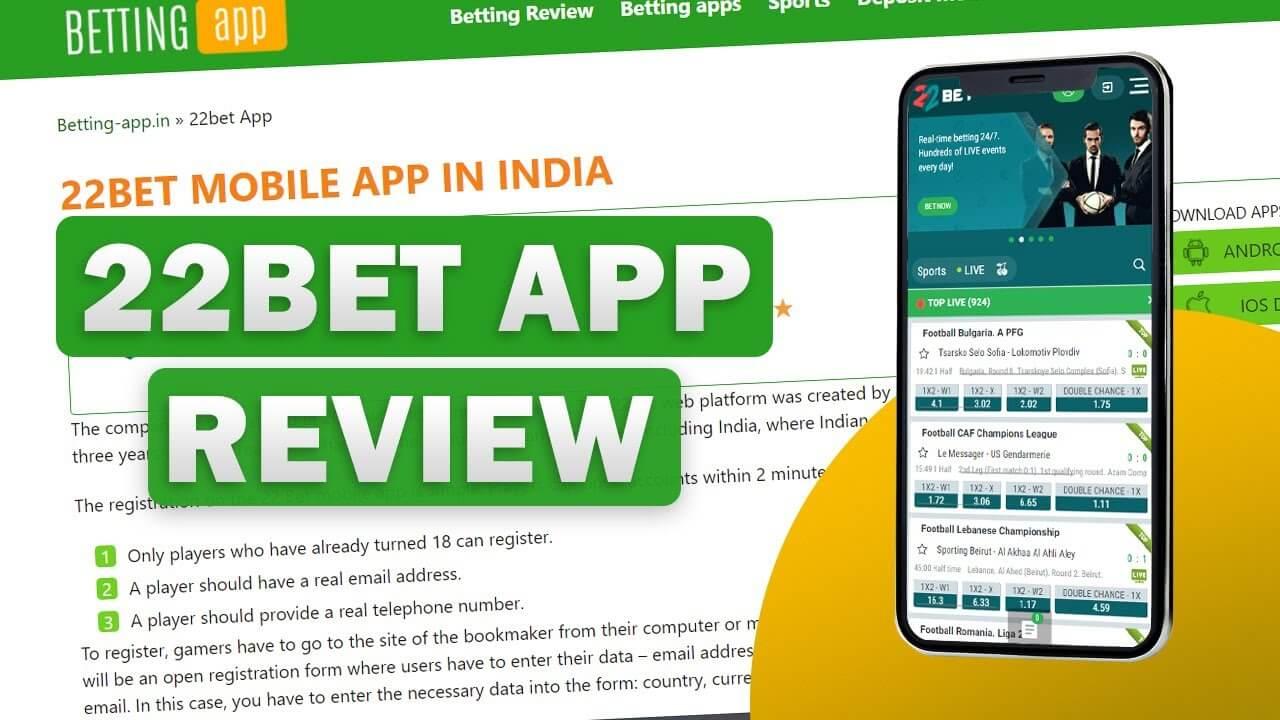 22bet app review Video