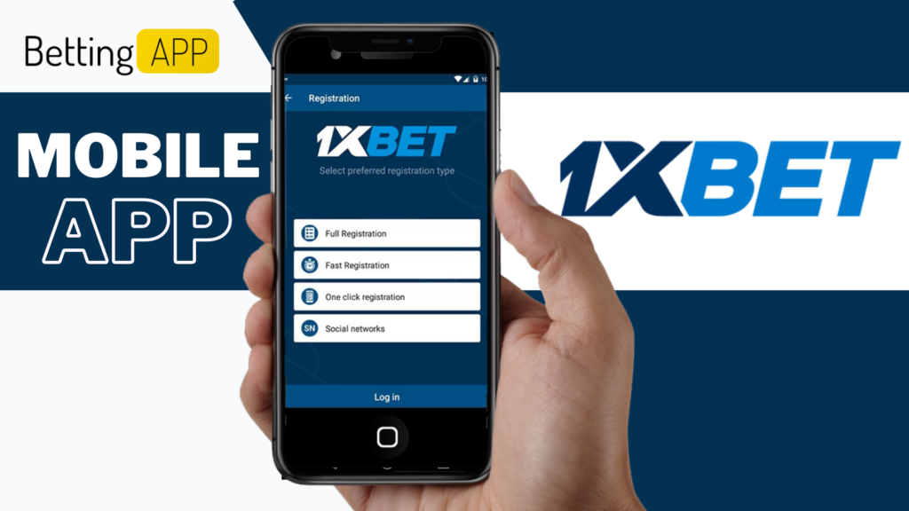 LEGENDARY 1XBET BETTING SITE MOBILE APP FOR IPHONE AND ANDROID