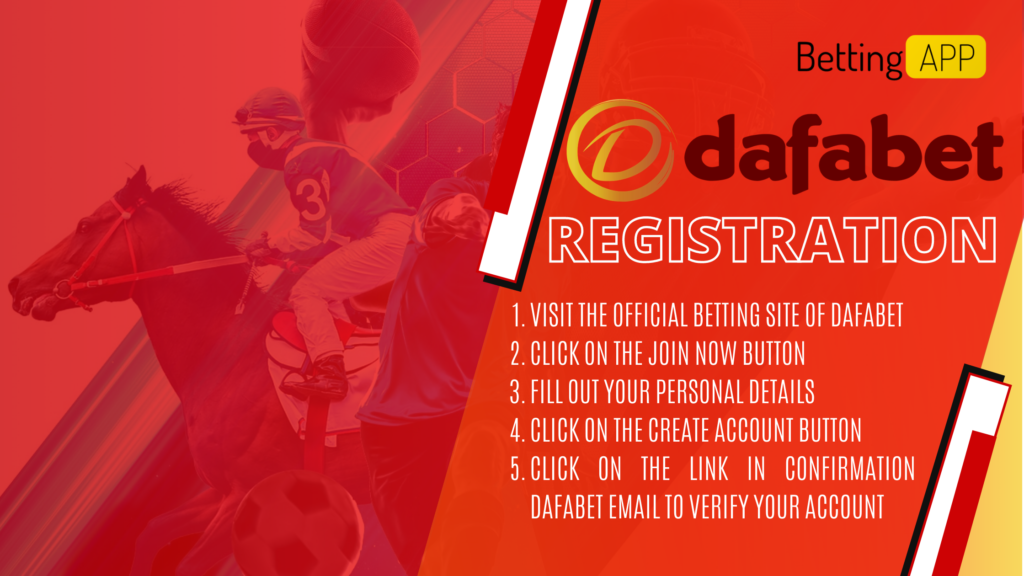 DAFABET BETTING ASIAN LEADING BOOKMAKER REGISTRATION