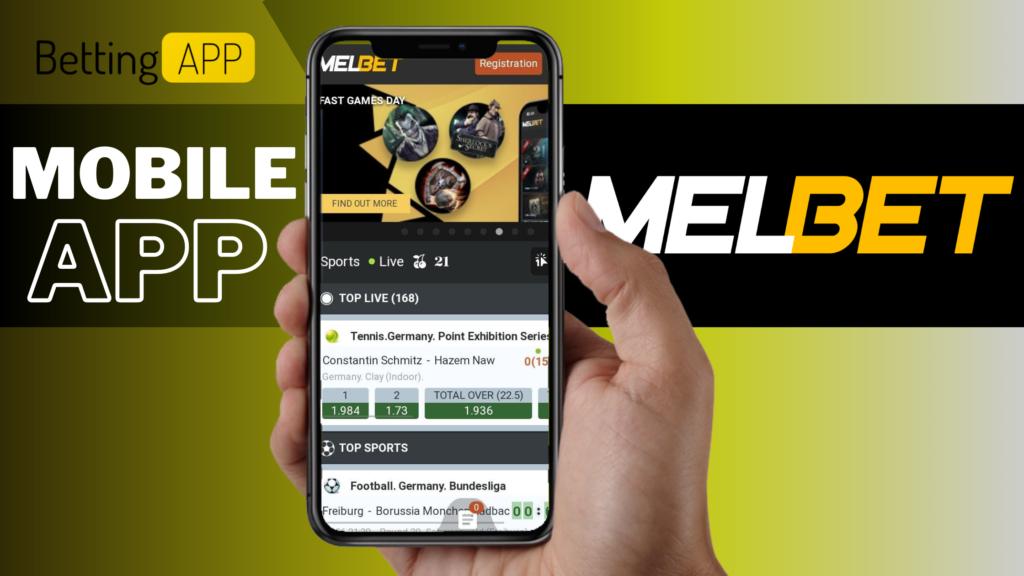 Melbet Betting Site India Casino Mobile App