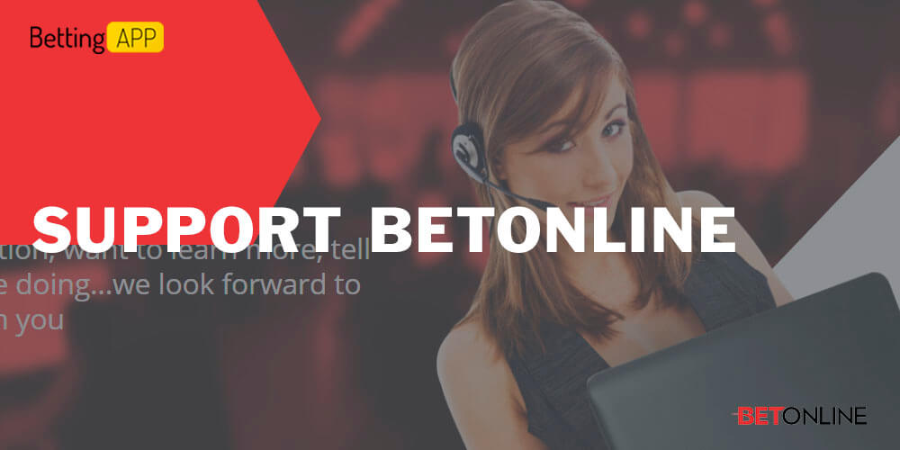 Betonline support