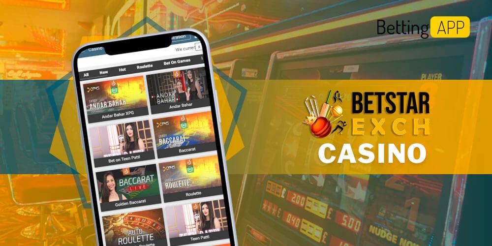 Betstarexch Casino app