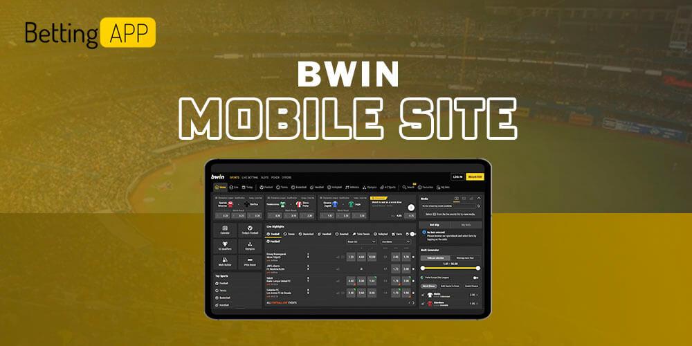 Bwin mobile site
