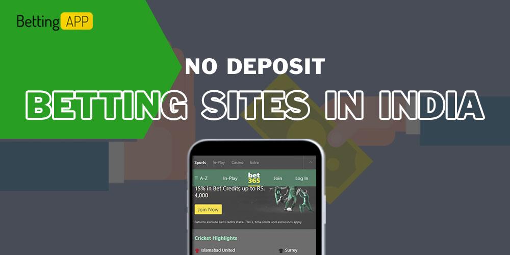 No Deposit Betting Sites in India