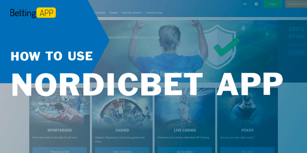 NordicBet How to use app