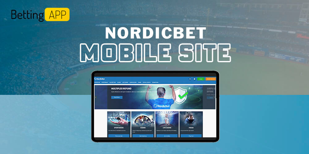 Nordicbet mobile site