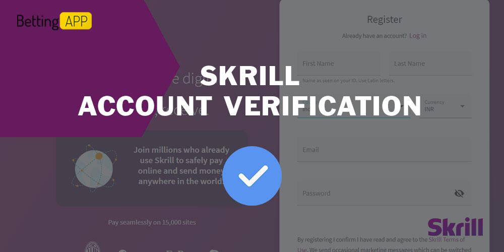 Skrill account verification