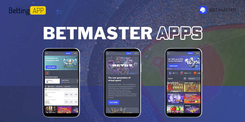 Betmaster apps