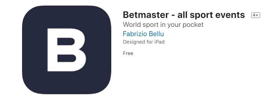 Betmaster Appstore
