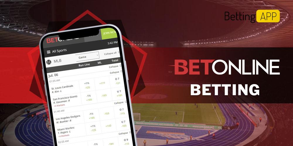 Betonline betting