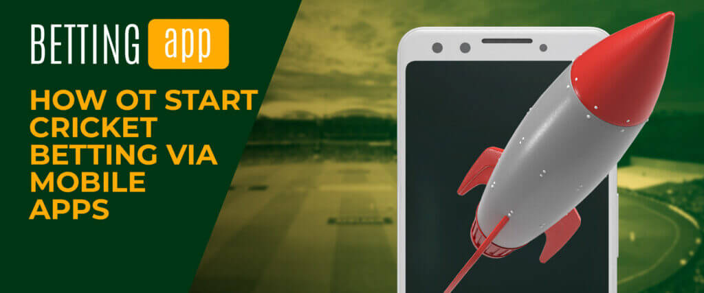 how to start betting via mobile apps