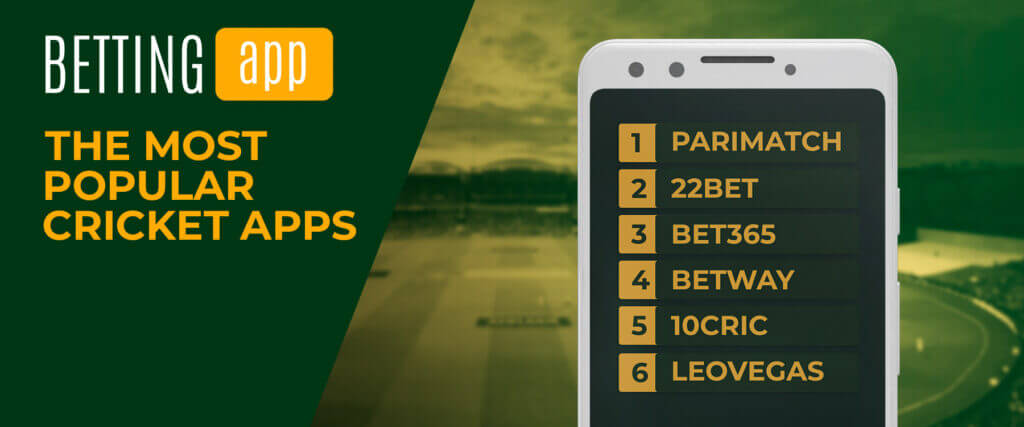 the most popular betting apps for cricket