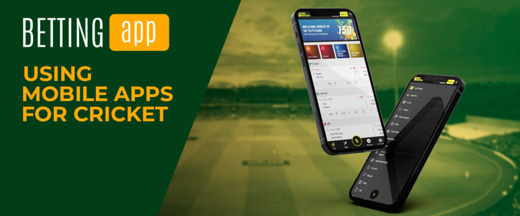 using the mobile apps for cricket