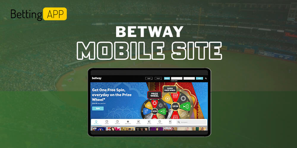 Betway mobile site