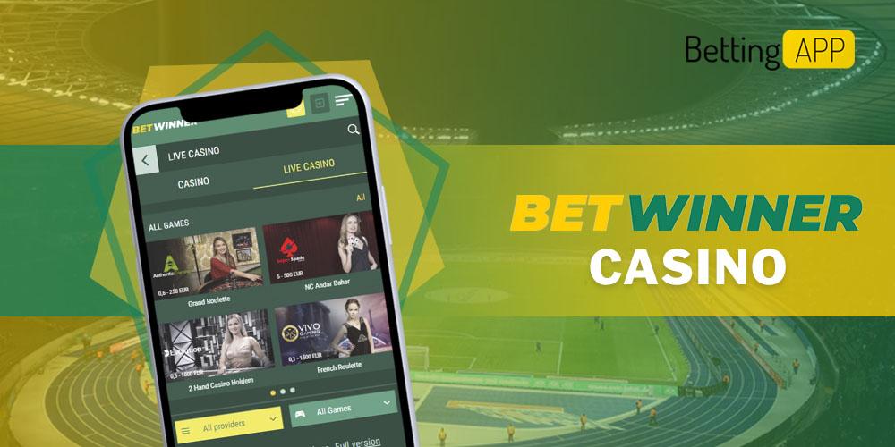 Betwinner app casino