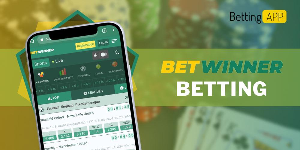 Betwinner betting