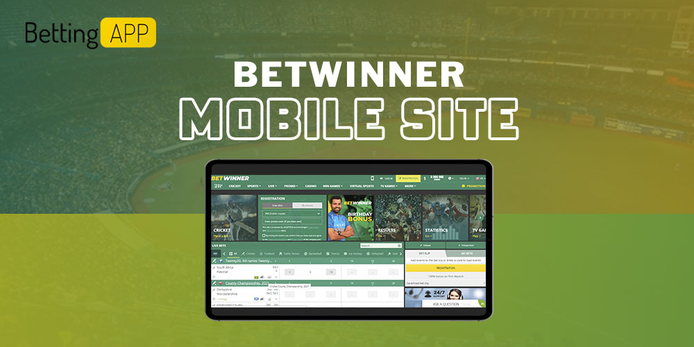 Betwinner mobile site