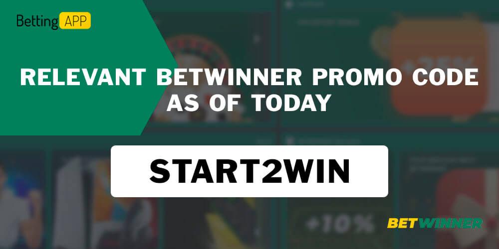 Betwinner current promocode