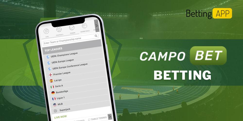 Campobet betting app
