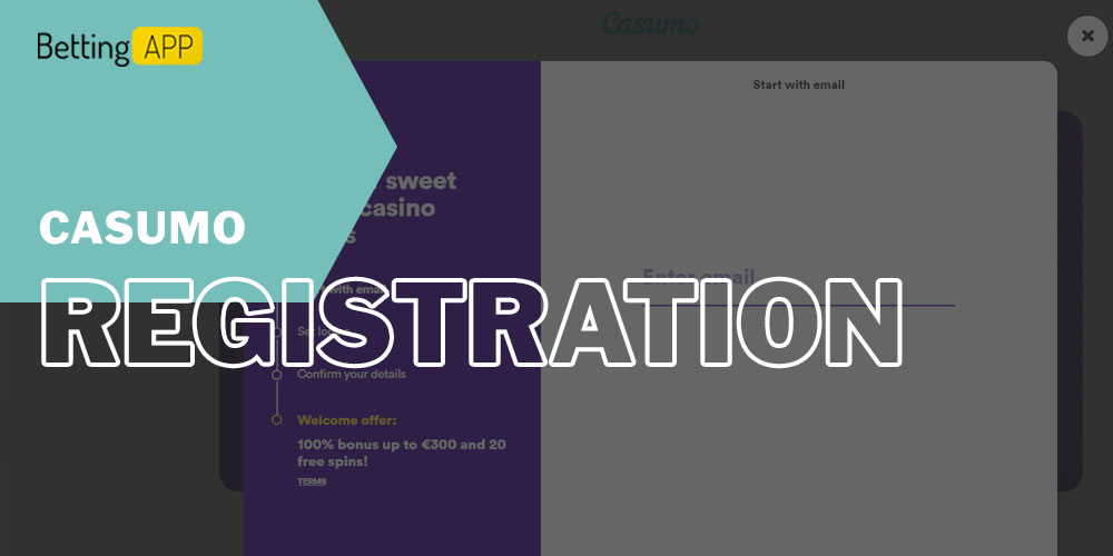 How to Registration in Casumo