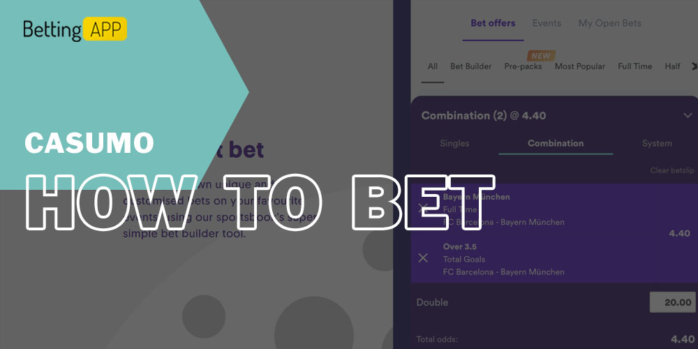 How to bet on Casumo