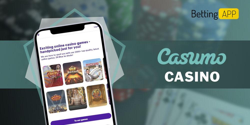 Casumo casino app