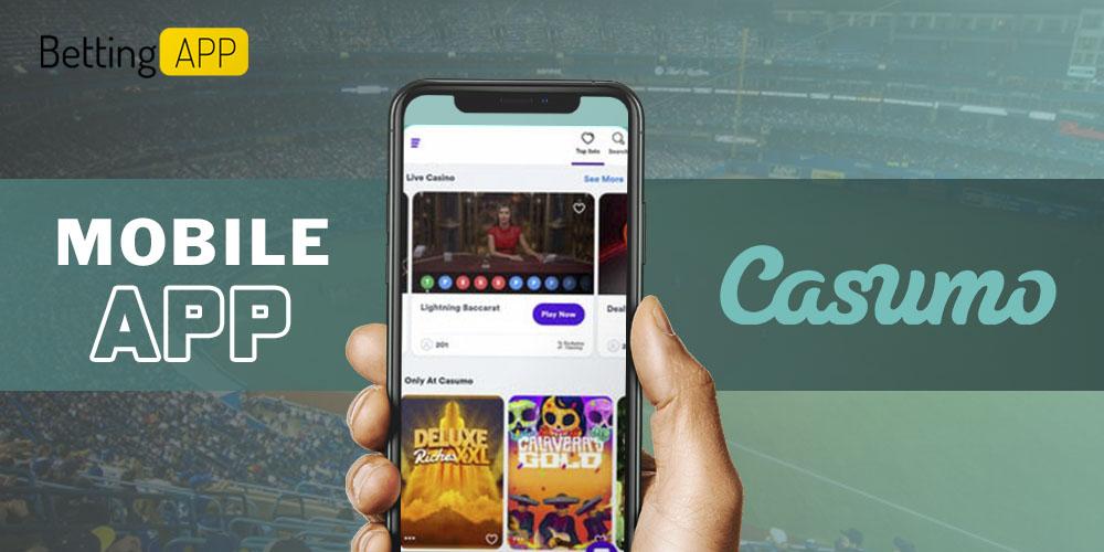 Casumo mobile app review