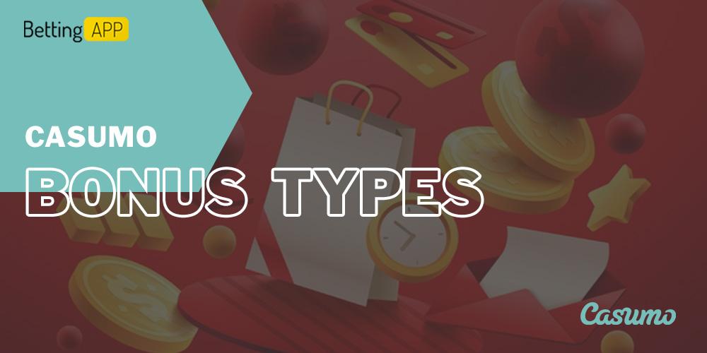 Casumo bonus types