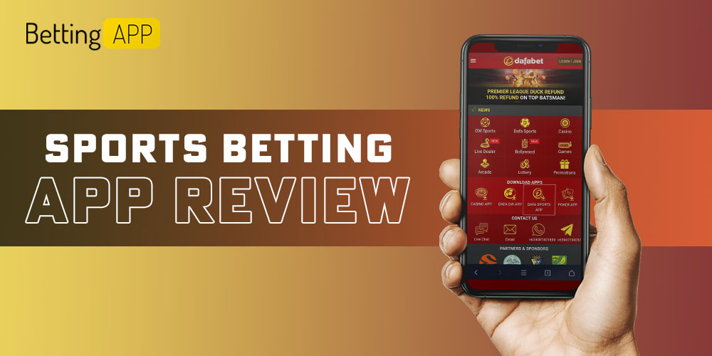 Sports betting app review