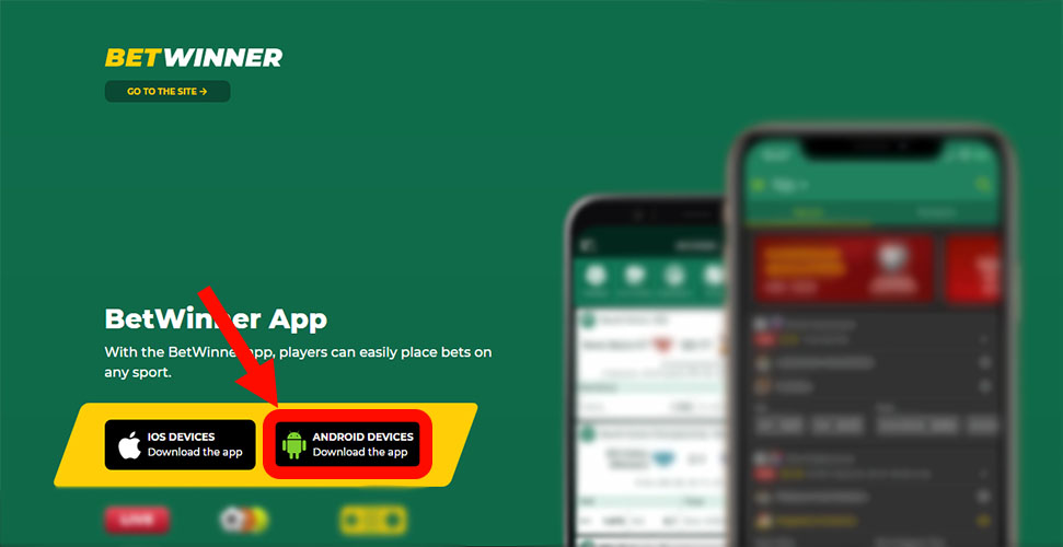 Download Betwinner Android
