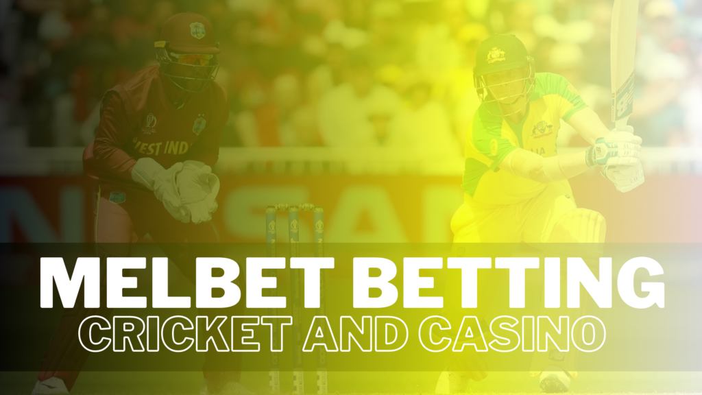 Melbet - great site for placing bets on cricket and casino