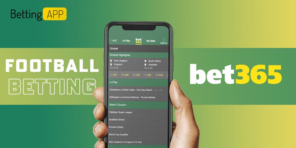 Football betting bet365