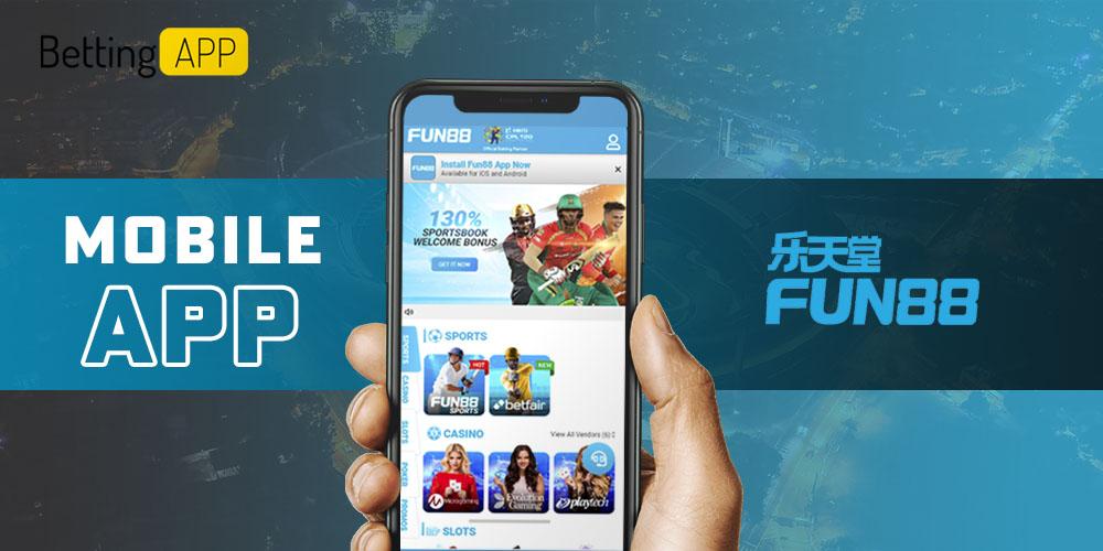 Fun88 mobile app