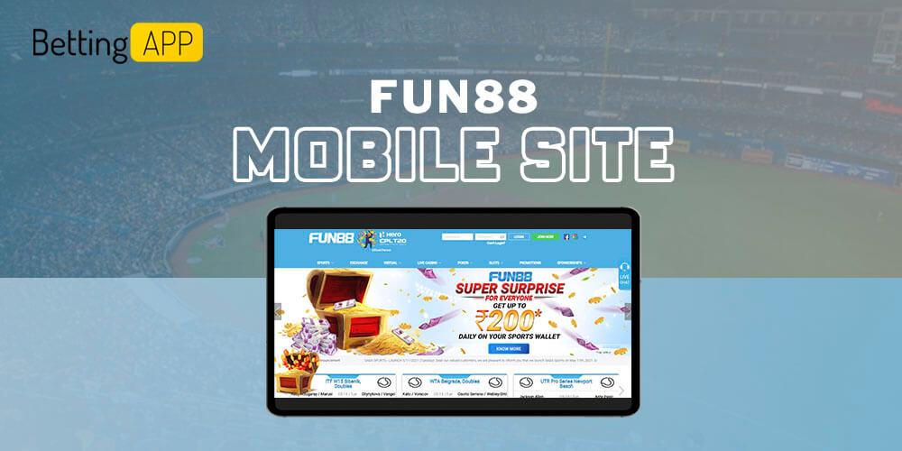 Fun88 mobiles ite