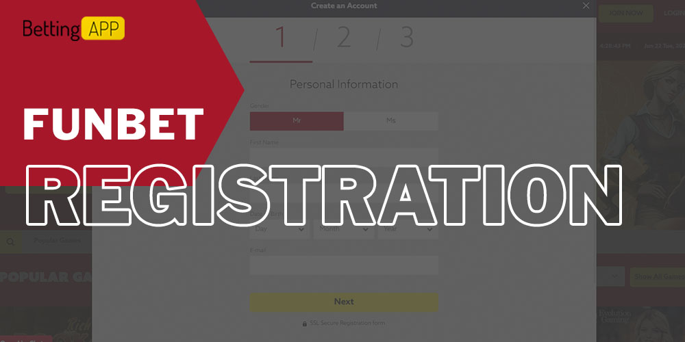 How to Registration in Funbet
