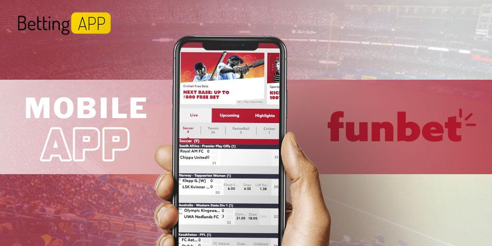 Funbet mobile app