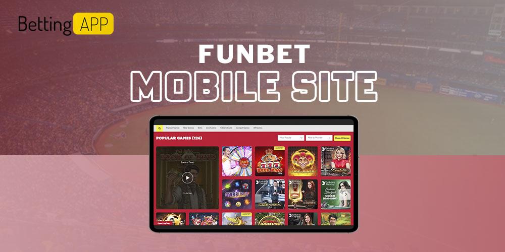 Funbet mobile site