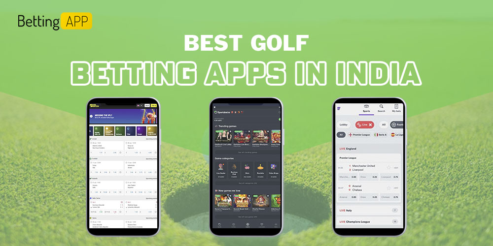 Best Golf betting apps in India