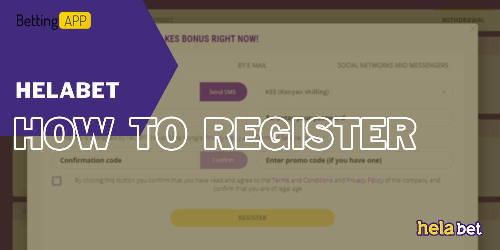 How to Register in HelaBet
