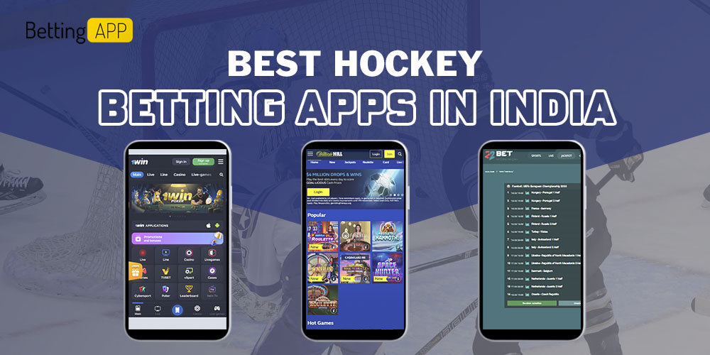 Best hockey betting apps in India
