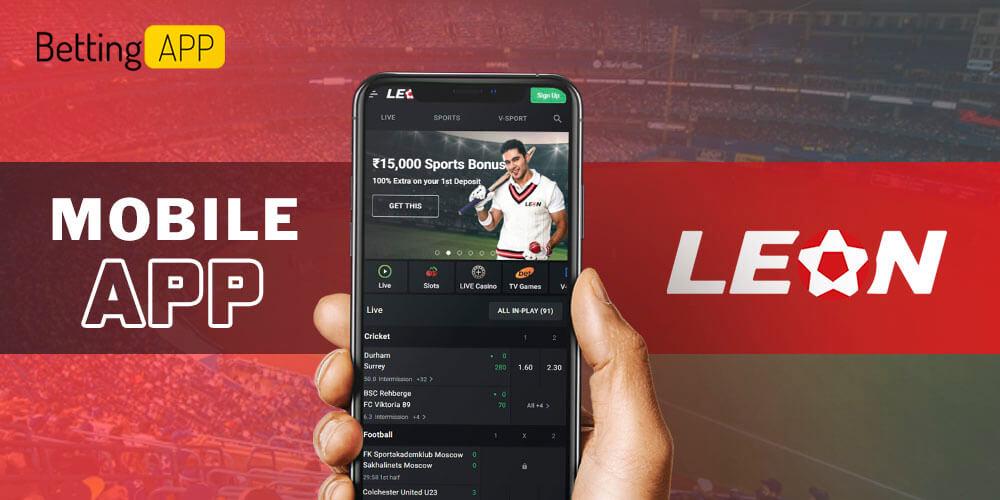 Leon mobile app
