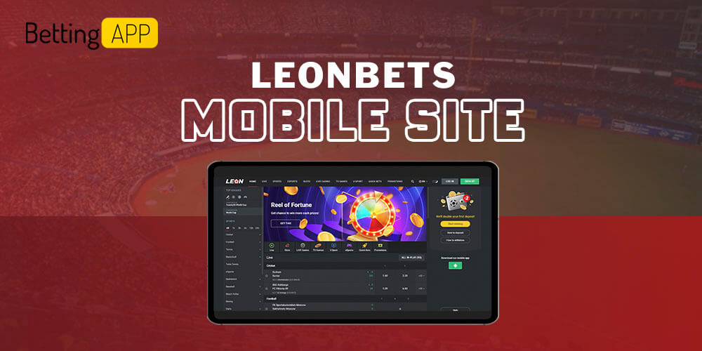 Leon mobile site