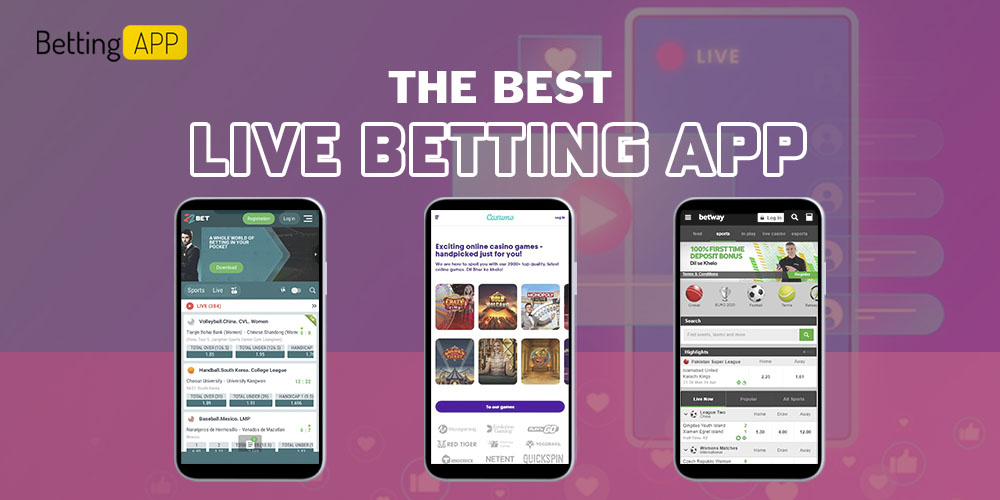 The best live betting app