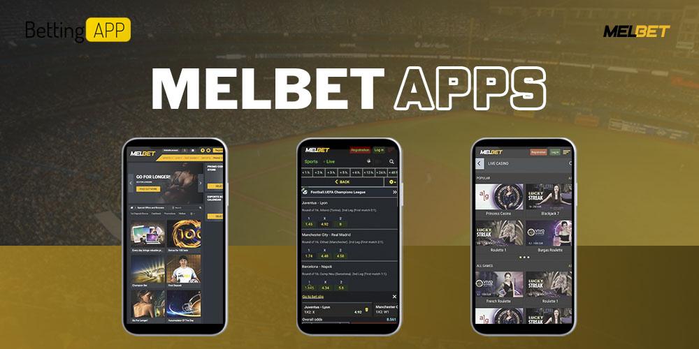 Melbet apps