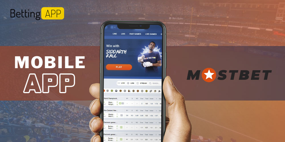 Mostbet mobile app