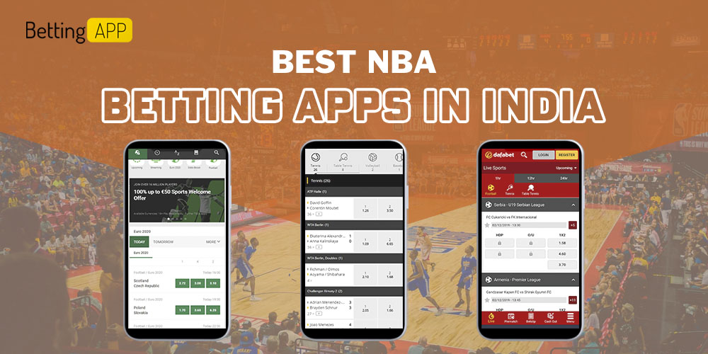 Best NBA betting apps in India