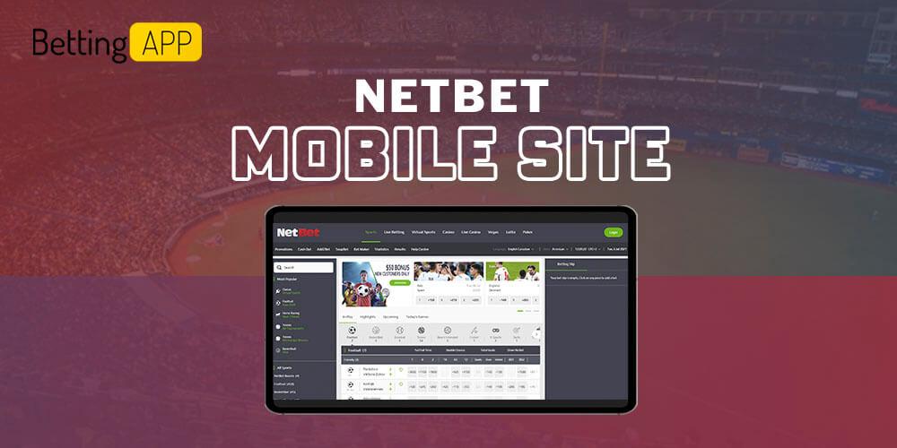 Netbet mobile site